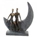 Skulptura - Moon bronze