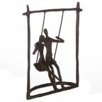 Skulptura - Swing browned