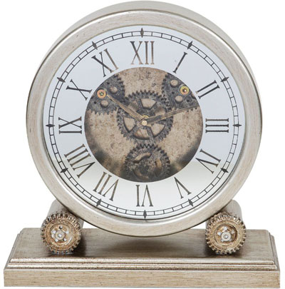 Stoni sat - Mantel Clock with Moving Gears 35cm