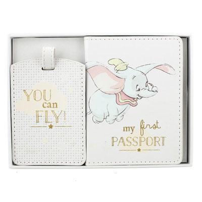 Tag za kofer i futrola za pasoš - Disney, Dumbo