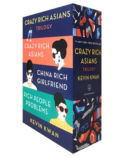The Crazy Rich Asians - Trilogy Box Set