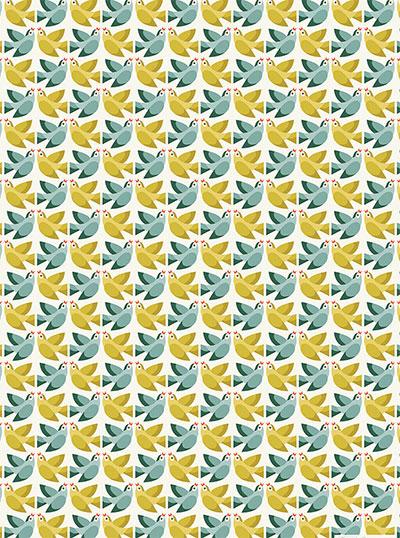 Ukrasni papir - Love Birds