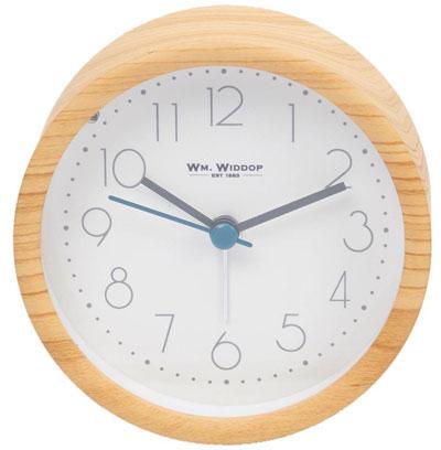 Zidni sat alarm - Light Oak