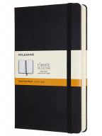 Moleskine, - Classic Expanded Ruled Paper Notebook, Color Black