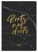 Agenda - Booklet Diary GlamLine Riots Not Diets 2021