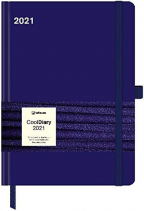 Agenda - Cool Diary Blue 2021