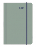 Agenda - Mini Flexi Diary EarthLine Lake 2021