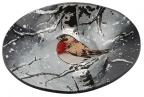 Činija - Winter Robin, S, Oval