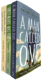 FREDRIK BACKMAN COLLECTION SET - 3 BOOKS (A MAN CALLED OVE, BRITT-MARIE WAS HERE & MY GRANDMOTHER SENDS HER REGARDS AND APOLOGISES)