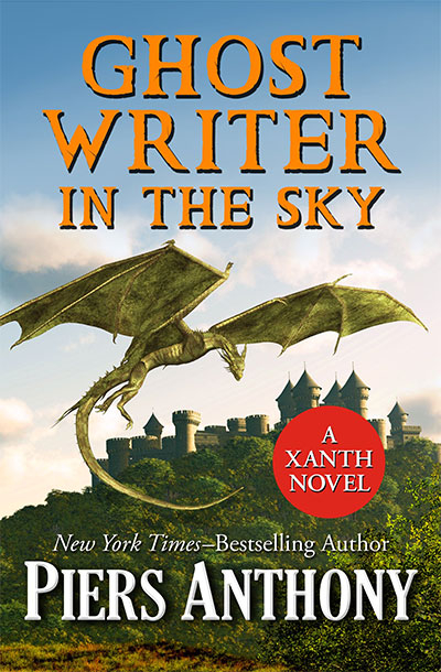 Ghost Writer In The Sky (The Xanth Novels, Book 41)