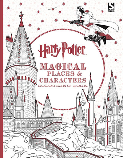 HARRY POTTER MAGICAL PLACES AND CHARACTERS COLOURING BOOK 3