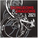 Kalendar 2021 - Dungeons & Dragons