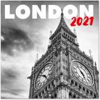 Kalendar 2021 - London B&W