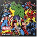 Kalendar 2021 - Marvel Comics