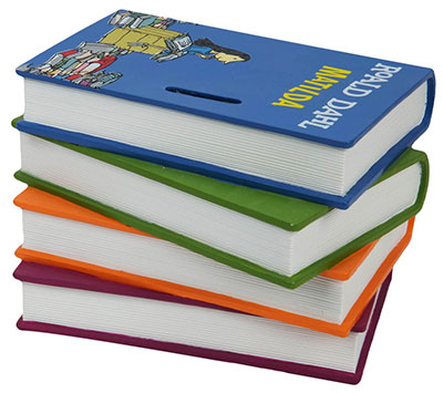 Kasica - Matilda Pile Of Books