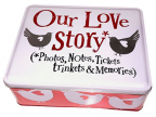Kutija za sitnice - Our Love Story Tin