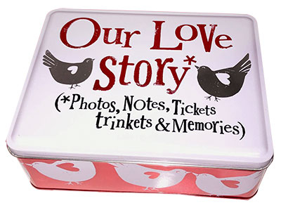 Kutija za sitnice - Our Love Story Tin