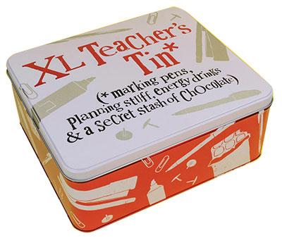 Kutija za sitnice - Teacher Tin, XL