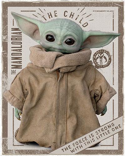 Mini poster - Star Wars, The Mandalorian, The Child