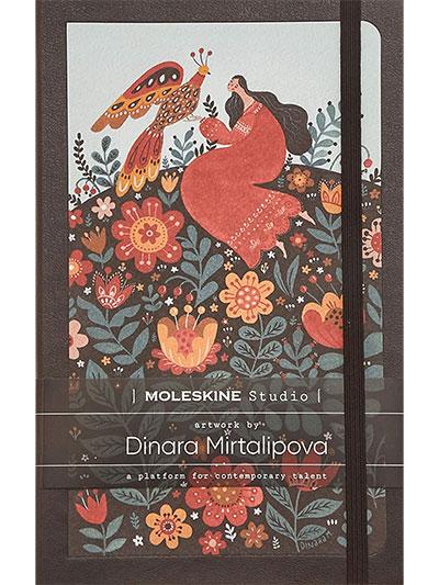 Moleskine Studio Collection Notebook, Lined Paper Notebook, Artist Dinara Mirtalipova