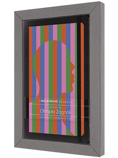Moleskine - Moleskine Studio Collection Notebook, Lined Paper Notebook, Artist Olimpia Zagnoli,