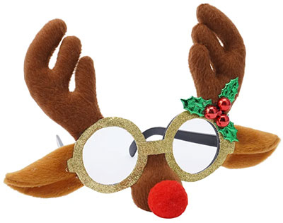 Novogdišnje naočare - Xmas Reindeer Novelty