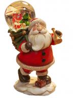 Novogodišnja figura/vodena kugla - Santa with Sack