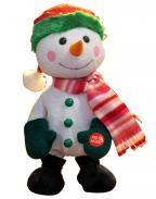 Novogodišnja muzička figura - Musical Dancing Snowman