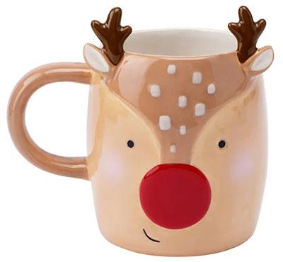 Novogodišnja šolja - JTTW Novelty Reindeer Snack