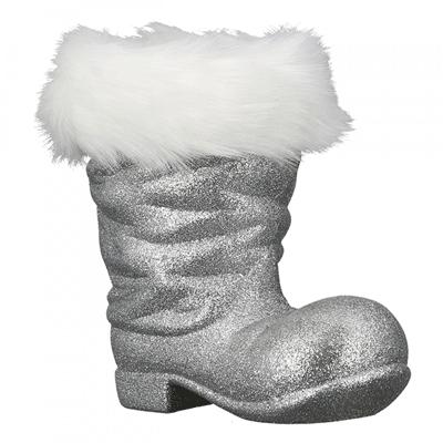 Novogodišnji ukras - Boots Flitter, silver