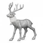 Novogodišnji ukras - Deer Flitter, silver