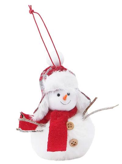 Novogodišnji ukras - Hanging Xmas Snowman