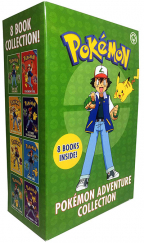 POKEMON ADVENTURE COLLECTION - 8 BOOKS BOX SET