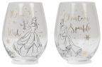 Set novogodišnjih čaša - Disney, Belle & Cinderella