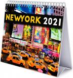 Stoni kalendar Deluxe 2021 - New York