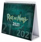 Stoni kalendar Deluxe 2021 - Rick & Morty