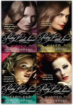 WICKED PRETTY LITTLE LIARS SERIES 2 COLLECTION - 4 BOOKS SET