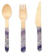Wood Cutlery Tribal