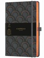 Agenda - Art Deco Copper, 13x21