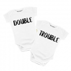 Bodi za bebe - Double Trouble, 3/6
