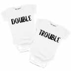 Bodi za bebe - Double Trouble, 9/12