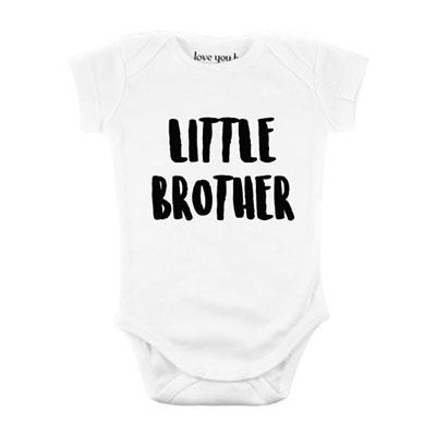 Bodi za bebe - Little Brother, 3/6