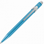 Caran d'Ache 849 Ballpoint Pen, Popline Metal-X, Turquoise