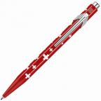 Caran d'Ache 849 Ballpoint Pen, Totally Swiss, Flag