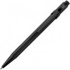 Caran d'Ache 849 Black Code Ballpoint Pen with Chrome Trim, Blue Ink