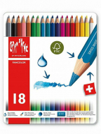 Caran d'Ache drvene bojice set/18, Fancolor, Metal Box Set