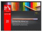Caran d'Ache drvene pastelne bojice set/20, Artist, Paper Box Set