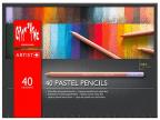 Caran d'Ache drvene pastelne bojice set/40, Artist, Paper Box Set