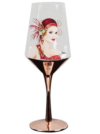 Čaša - Charleston Wine, Lady in Red