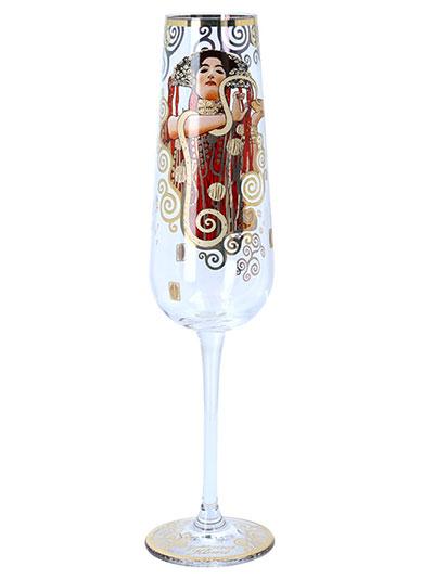 Čaša za šampanjac - Klimt, Medicine
